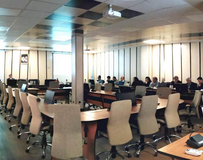 جلسه بررسی و تبادل نظر در خصوص طرح پژوهشی شرکت ملی نفت