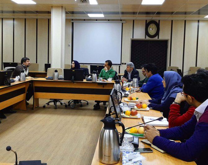 جلسه هماهنگی و تبادل نظر در خصوص پروژههای سه سال اول طرح پژوهشی
